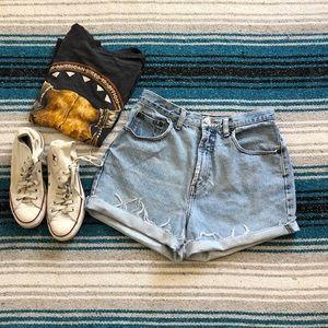 Vintage GAP High Waisted Jean Shorts
